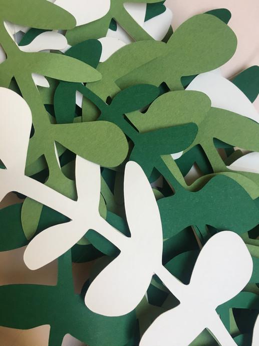 Couronnes d'eucalyptus - CSF Noël 2019