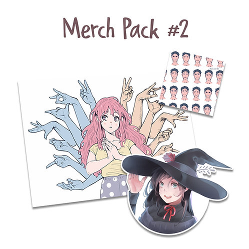 Miyuli - Merch Pack #2
