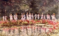 Helston Flora day children's dance