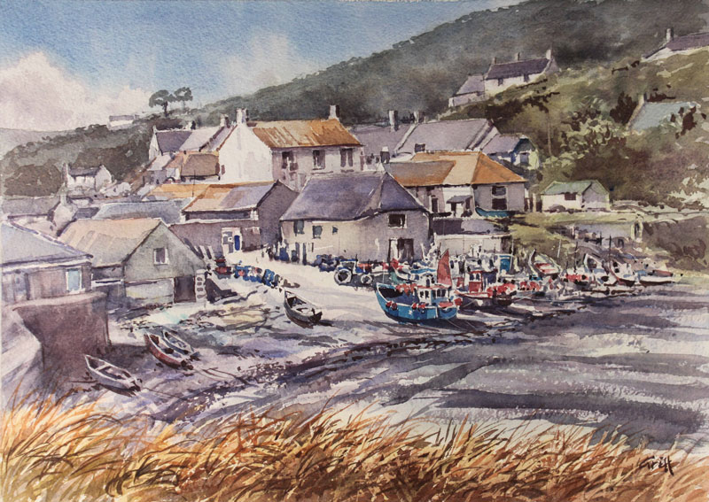 Cadgwith village Cornwall