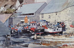 Cadgwith fishing village