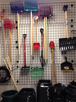 Shovels and Rakes