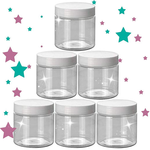 My Perfect Slime CONTAINERS! No-Crack plastic! I LOVE These Jars