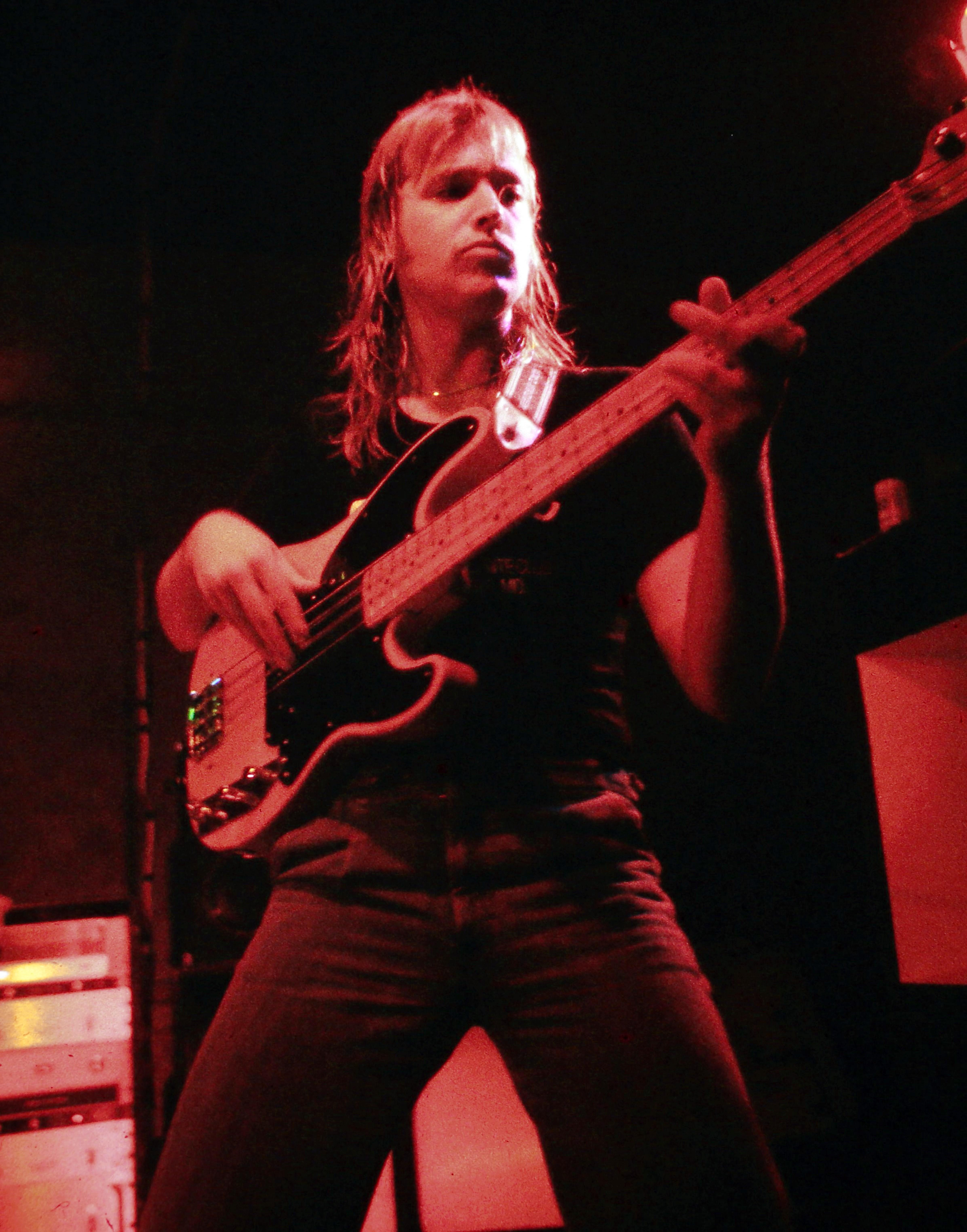 Henry Farmer on Bass Guitar