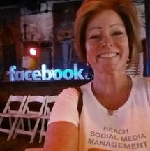 Susan Singer at Facebook conference