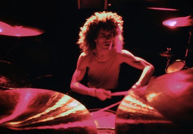 Man drumming