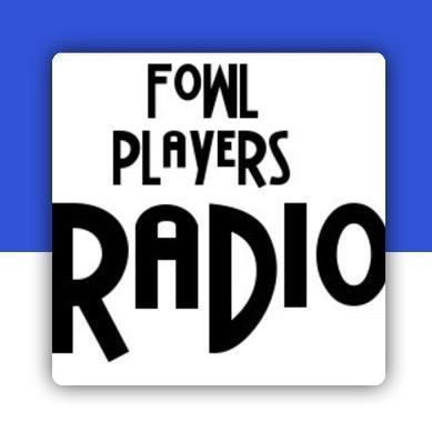 FOWL PLAYERS RADIO LOGO