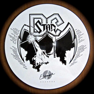 DC STAR Picture Disc Back