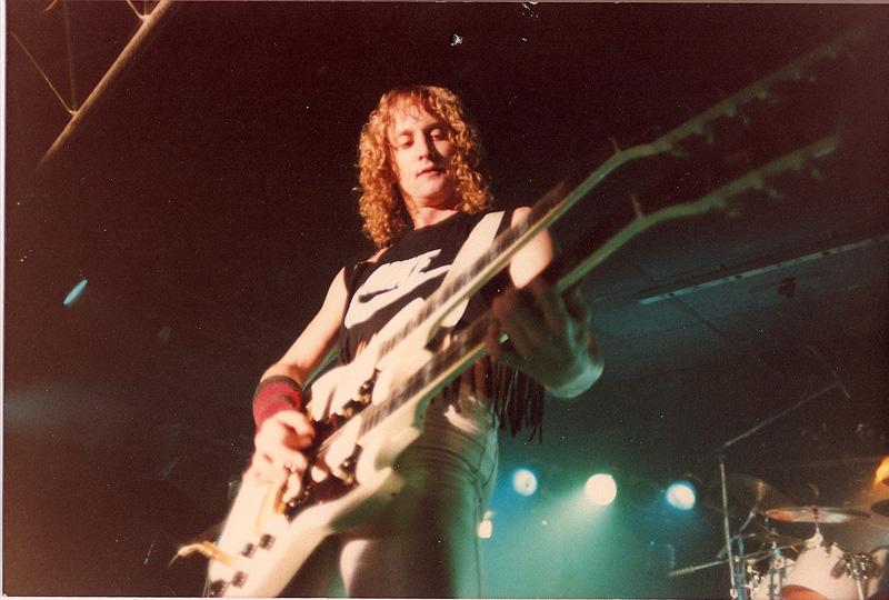 David Simmons - Double Neck Guitar