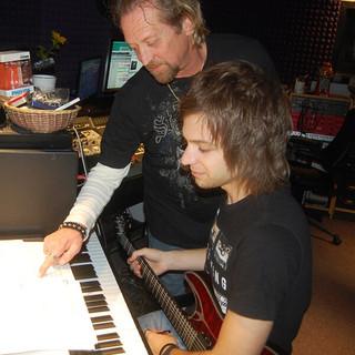 Producers David Simmons and Eric Dalton Collaborating