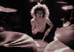 Glen Jones drumming