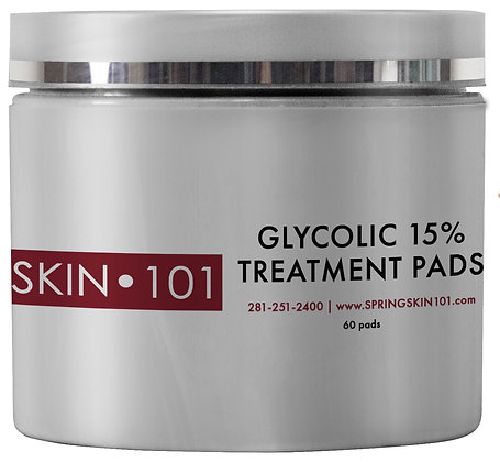 SKIN 101 Glycolic Treatment Pads 15%