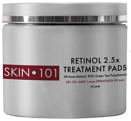 SKIN 101 Retinol Plus Treatment Pads 2.5X
