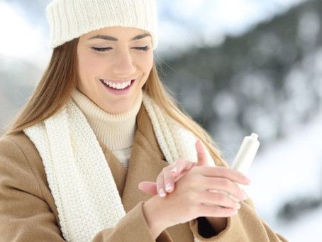 winter skincare tips (infographics)