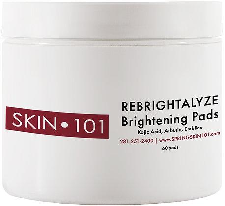 SKIN 101 Rebrightalyze Pads