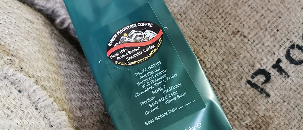 Kinini Mountain Coffee - Medium Dark 250g
