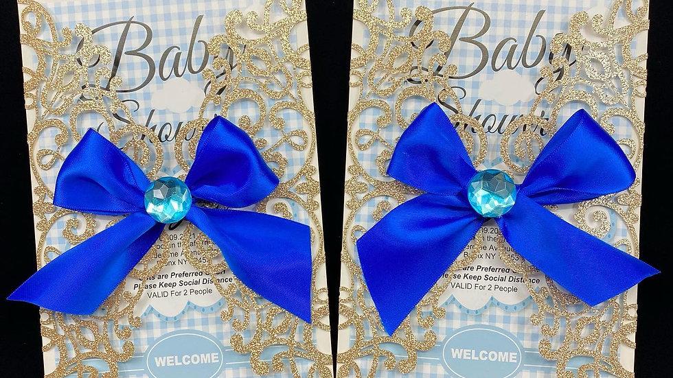 Baby Shower Fancy invitations (Dozen) 12 Cards