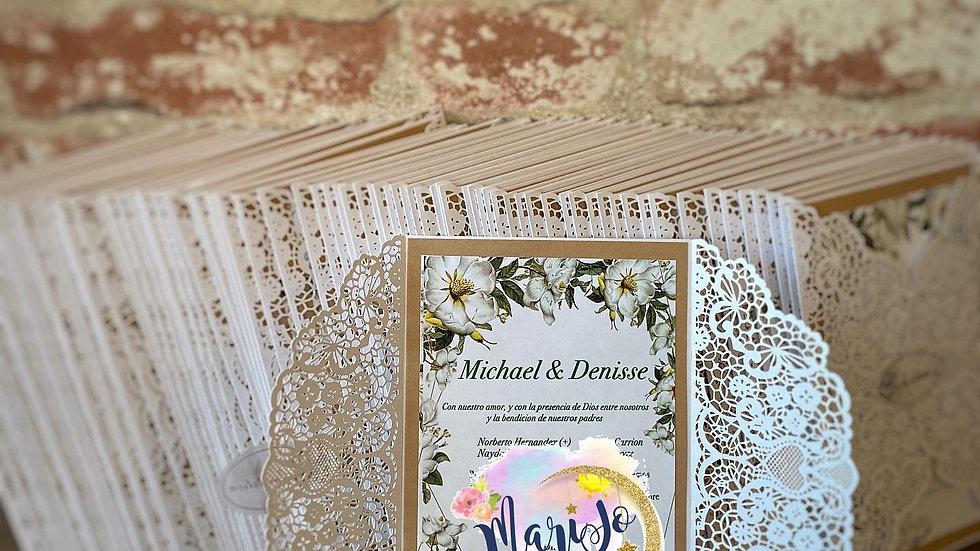 Wedding Invitations  (Dozen) 12 Cards