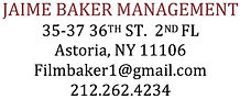 Jaime Baker Management contact