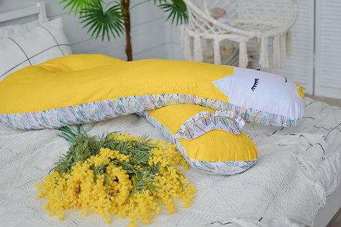 Подушка для Беременных с Мордочкой