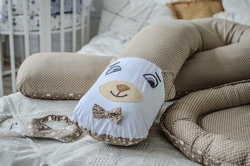 Подушка для Беременных Сатин с Мордочкой