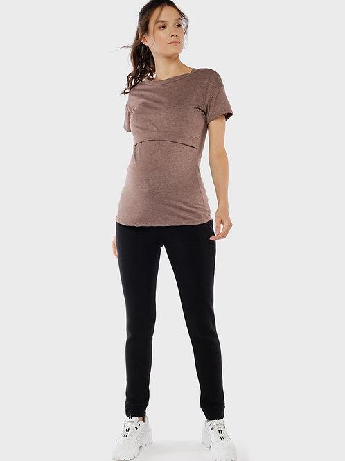 Спортивные штаны для беременных на Флисе