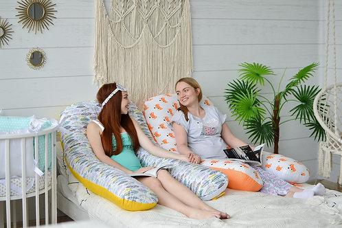 Подушка для Беременных Сатин