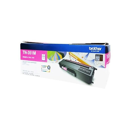 Brother TN-351M Standard Toner Cartridge Magenta (1500 pages)