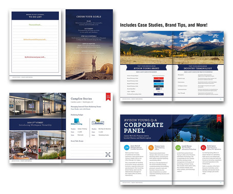 Guidebook for each attendee full of case studies, tips, and more.