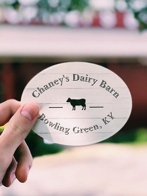 Cow Sticker