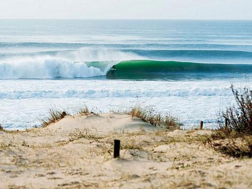 Surfing Hossegor in winter