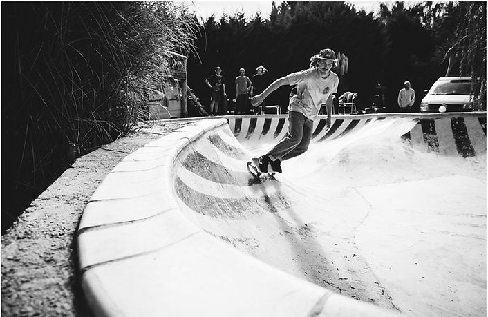 DIY Skatebowl at Ecwsurf in France