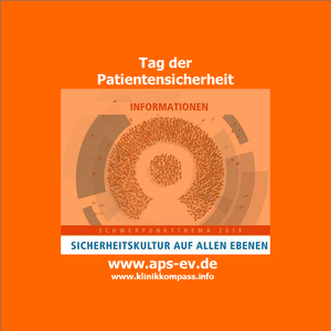Das Logo der WhatsApp-Kampagne zum Tag der Patientensicherheit