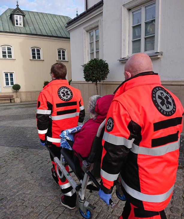 Przewóz chorych i niepełnosprawnych - Częstochowa