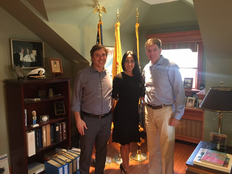 INGAME meets with Senator Chris Brown