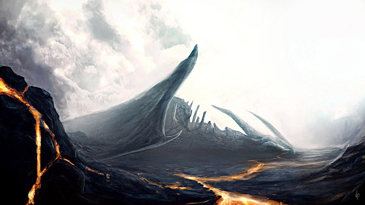 Dragon caido