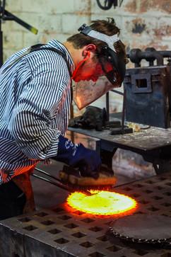 Close up of Blacksmith