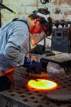 forging a skillet