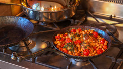 Professional kitchen with Athena cookware