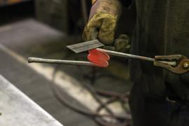 Blacksmith molding handle