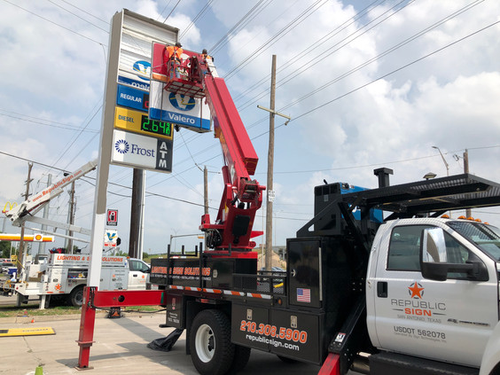 Valero Gas Station Rebranding