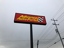 Advanced Auto Parts - Sign Service - San Antonio, TX