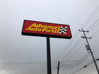 Advanced Auto Parts - Sign Service - San Antonio, TX