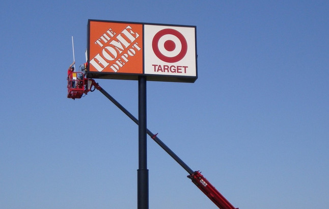 Home Depot / Target Sign Service