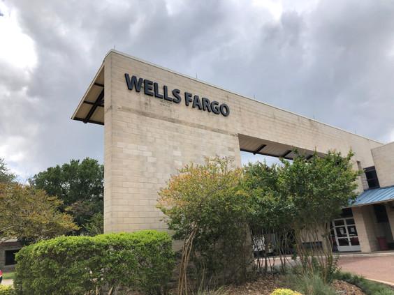 Wells Fargo Reverse Channel Letters