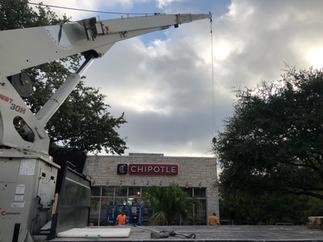 Chipotle Signage Upgrade - The Forum in San Antonio, TX