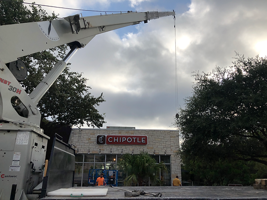 Chipotle Signage Upgrade - The Forum in San Antonio, TX