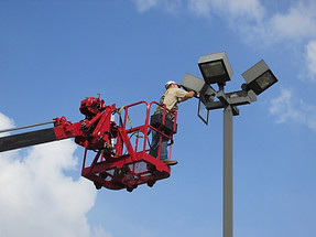 Parking Lot Lighting Service