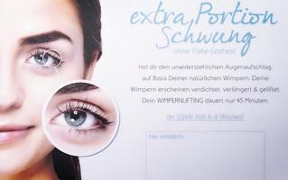 Hol Dir den unwiderstehlichen Augenaufschlag...NEU bei Vivir Style...Wimpernlifting für 69,-€