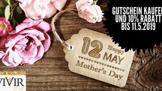 Am 12. Mai ist Muttertag